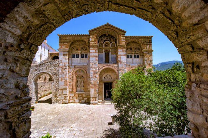 Βυζαντινή Μονή Οσίου Λουκά – Αράχοβα – Γαλαξίδι