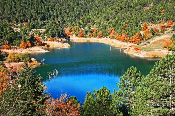 Λίμνη Τσιβλού – Ζαρούχλα * Οι νύμφες του Χελμού